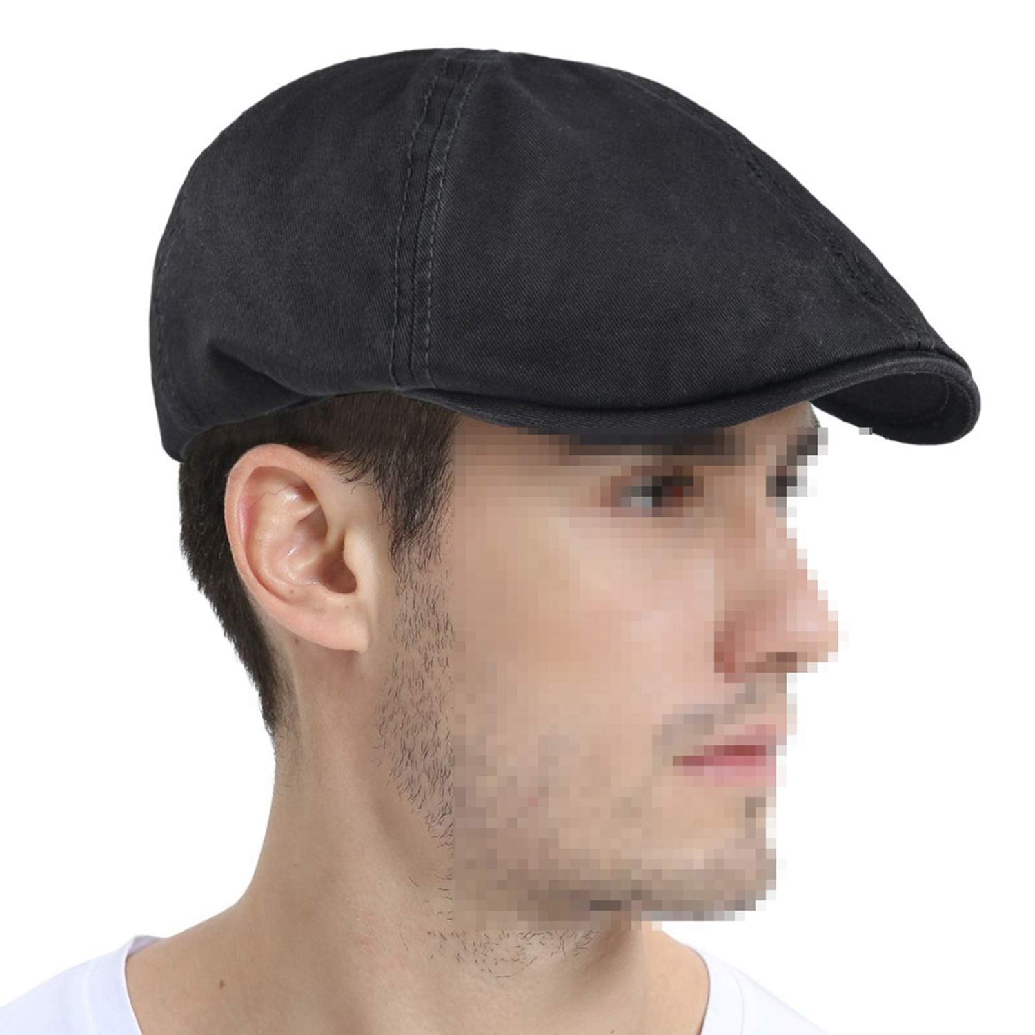 Cotton Ivy Flat Cap Berets Spring Summer Men Women Solid Casual Driver Cooker Retro Male Female Boina 063