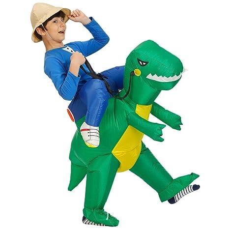 Traje Inflable Del Dinosaurio Que Camina De Los Niños ...
