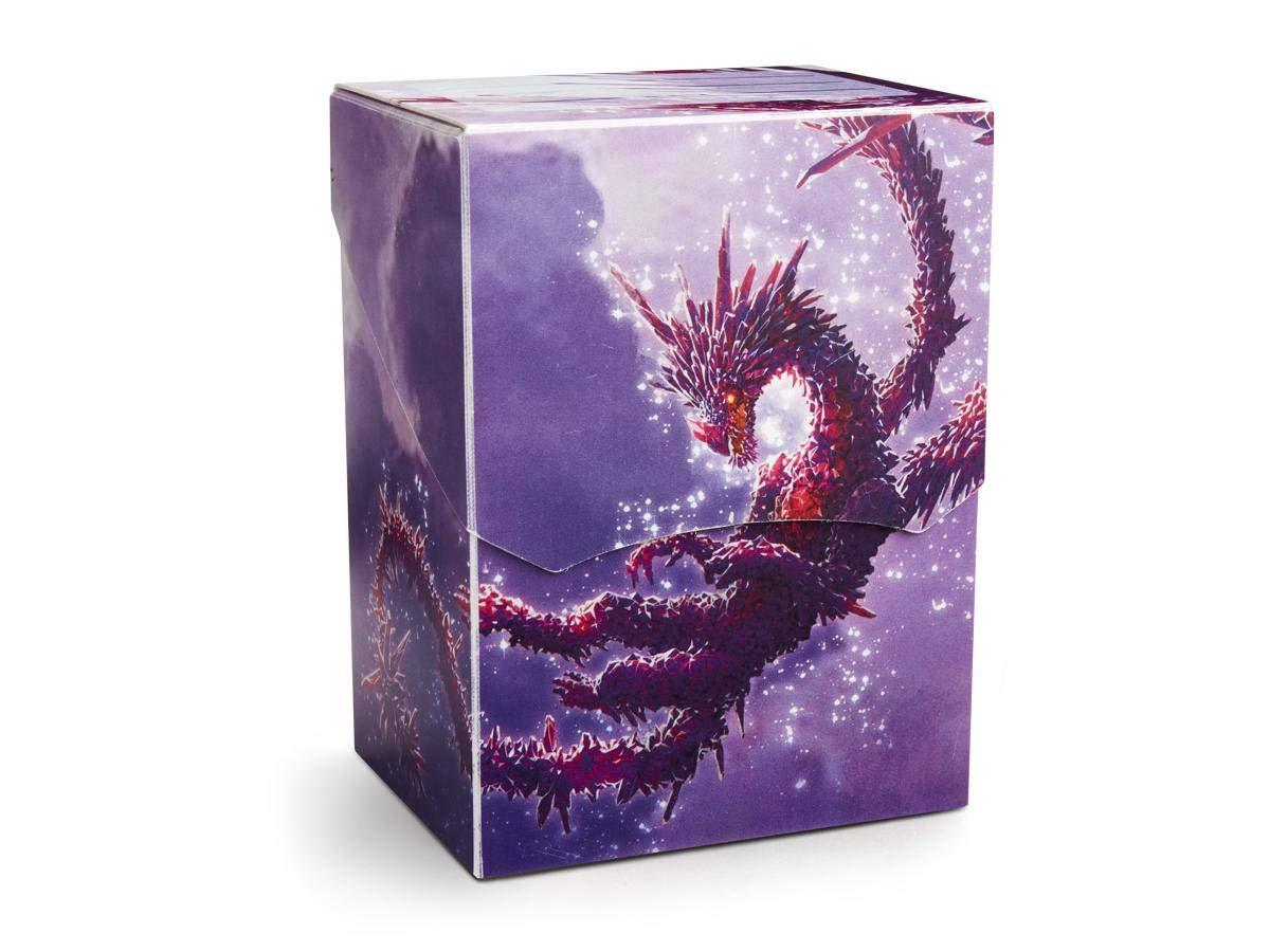 Arcane Tinmen ApS ART31629 Dragon Shield Deck Shell Clear Purple Drache Racan édition limitée Multicolore