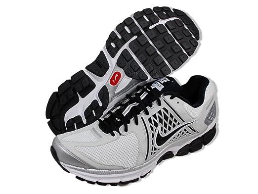 c88c404cf2e5 Amazon.com  Nike Zoom Vomero+ 6 Running Shoes - Size 8 Black White  Clothing