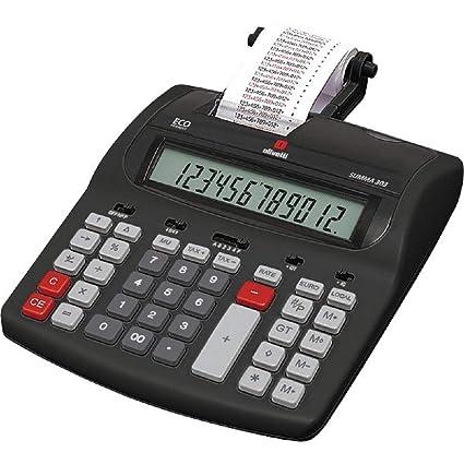 Calculadora Olivetti Summa 303 con impresión de 12 dígitos ...