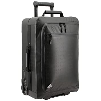 adidas Unisex Premium Overhead Wheel Bag, Black, One Size