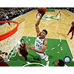 c34d9b5b Milwaukee Bucks Giannis Antetokounmpo, The Greek Freak! Action 8x10 Photo  Picture.