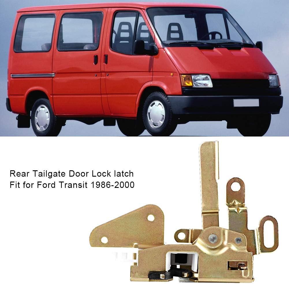 Gorgeri Pestillo de cerradura de puerta trasera trasera apto para Transit 1986-2000 95VB V43150 AA: Amazon.es: Coche y moto