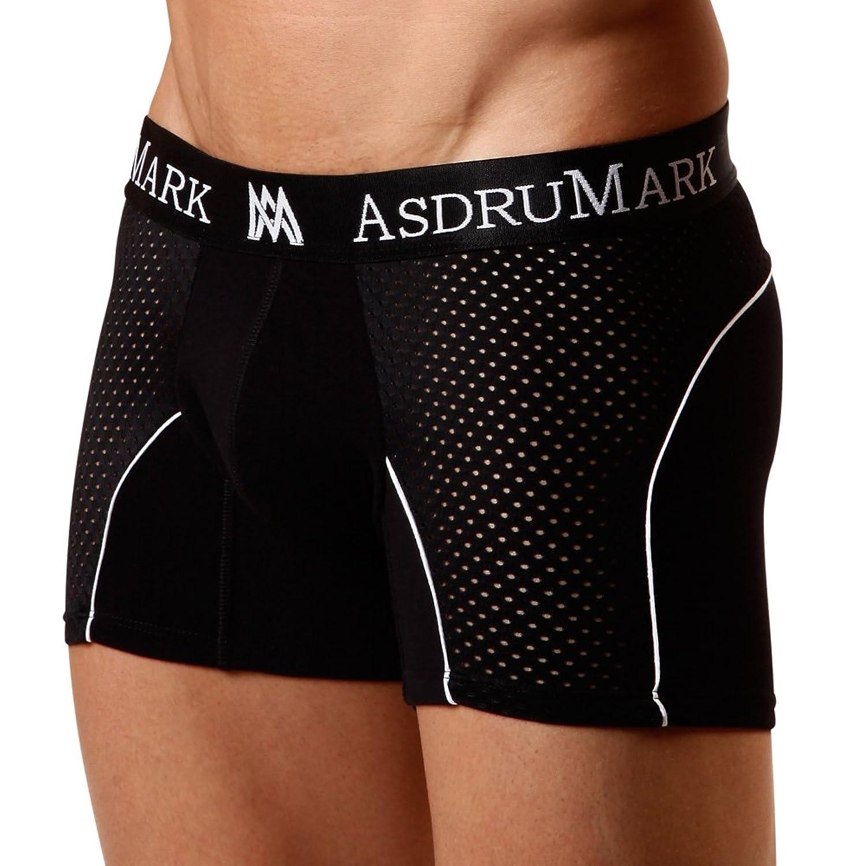 AsdruMark Boxer Classic Black Sport Men's Underwear.