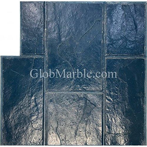 Stamped concrete Slate Stone Stamp GlobMarble SM 3002/2 Blue Ashlar Slate Concrete Stamp Mats