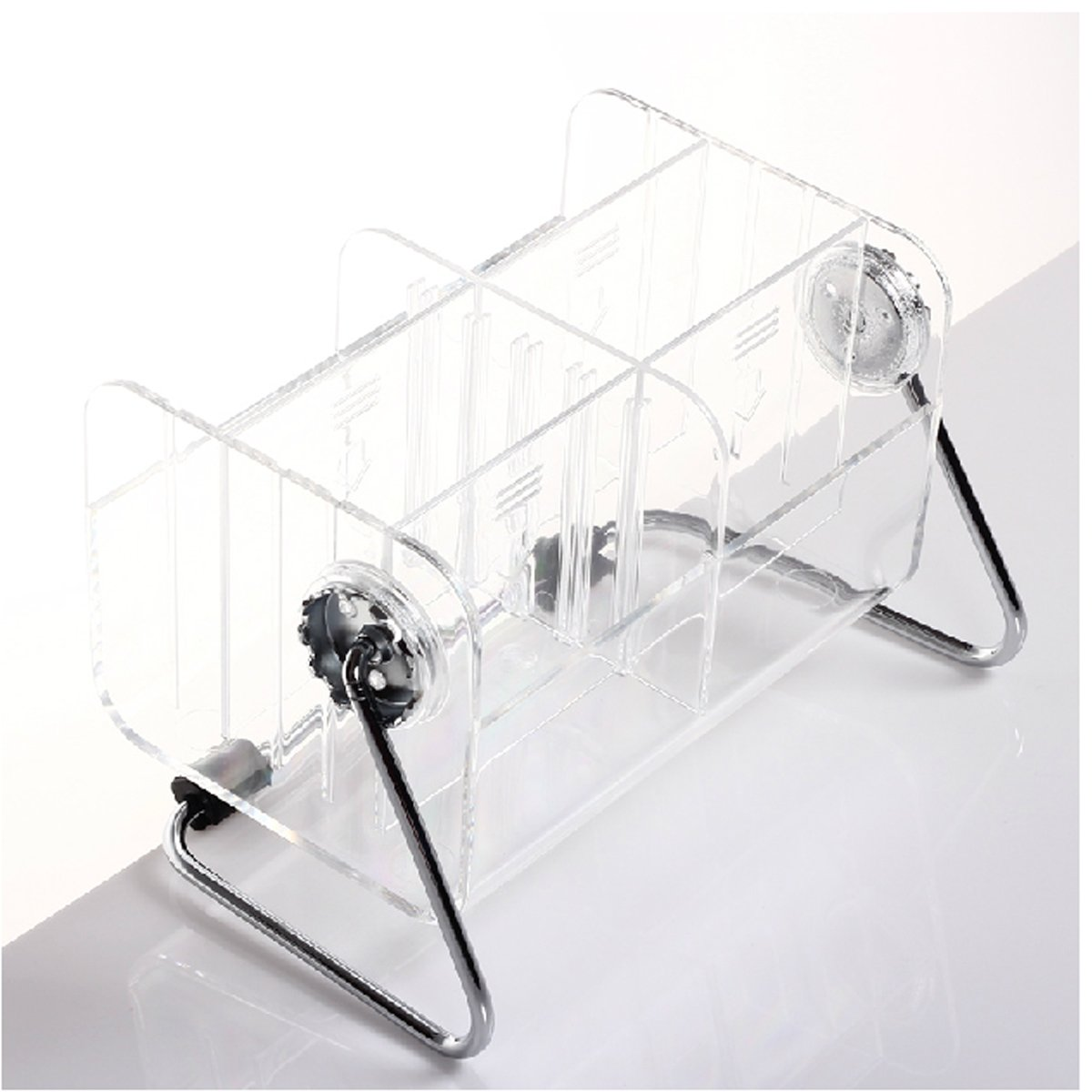 Remote Control Holder For Coffee Table Amazoncom Hqdeal Clear Desktop Remote Control Holder Organizer
