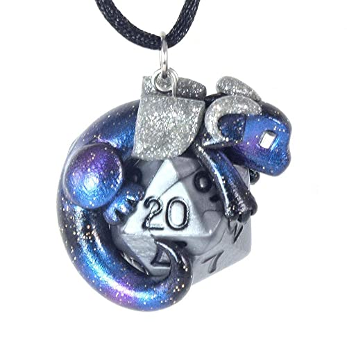 Baby Dragon handmade necklace