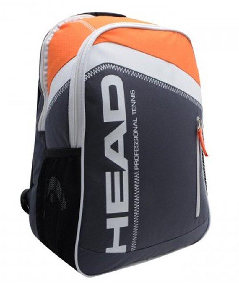 Head 2015 コアテニスバックパック B01DAFG8LG  ブラック/オレンジ