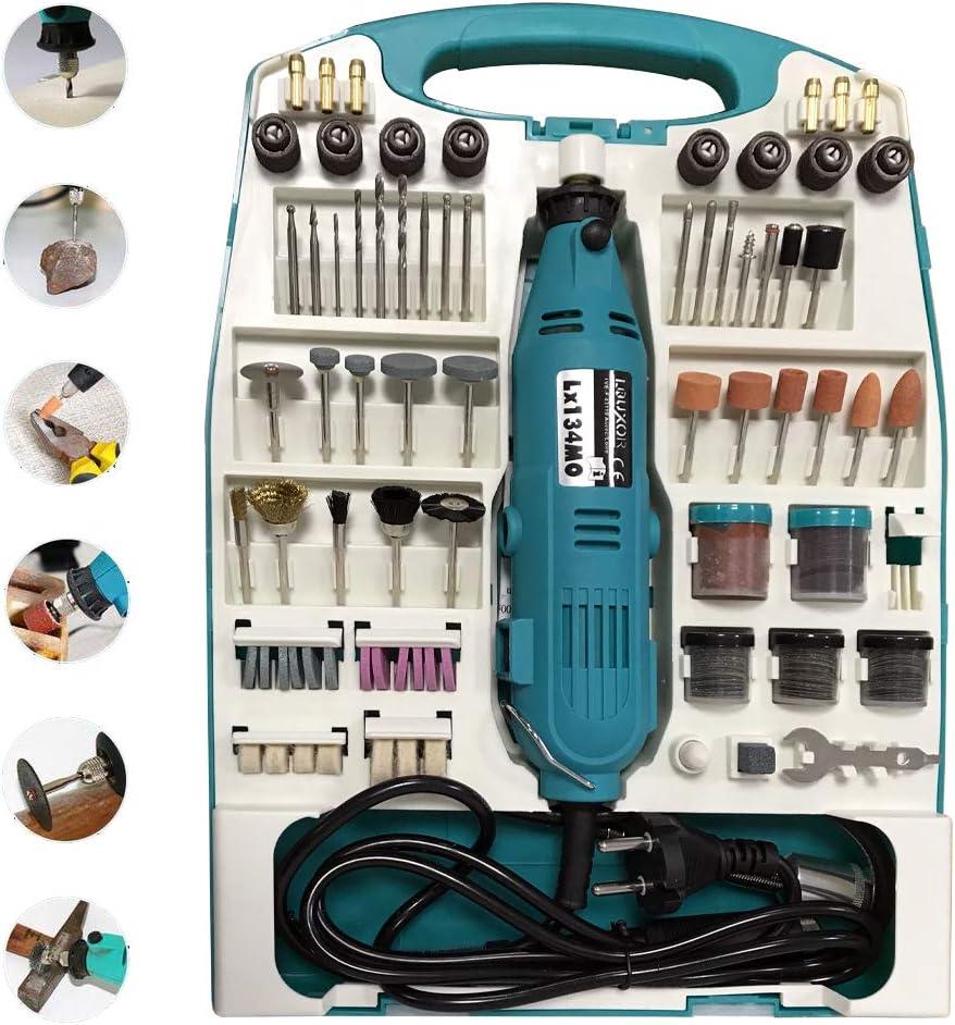 vert FROADP Mini ponceuse dangle multifonction avec accessoires pour bricolage et fabrication artisanale