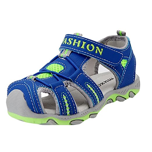 bb1016847a7f Hot Sale!Summer Children Kids Shoes Boys Girls Beach Running Sport Sandals  PU Rubber Shoes Sneakers-Todaies
