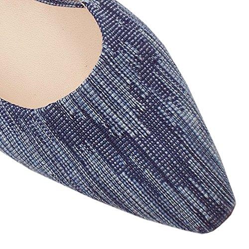 Castra Elegante Kaiser Sandali Basso Peter Donna Tacco Jeans In 5dXvxqZ