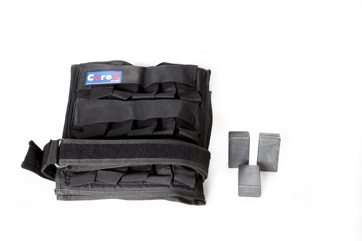 CoreX Adjustable Weighted Vest, Holds up to 66lbs! (Weight stack not included) by CoreX