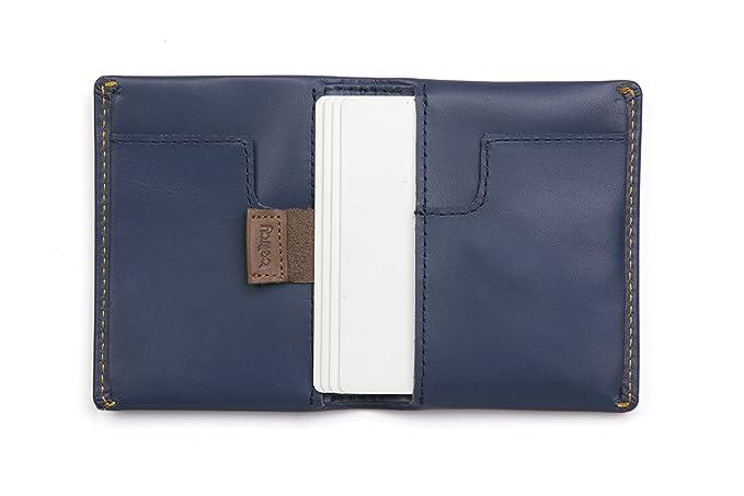 715be608d0 Portafoglio Bellroy Slim Sleeve in pelle da uomo Blue Steel: Amazon.it:  Valigeria