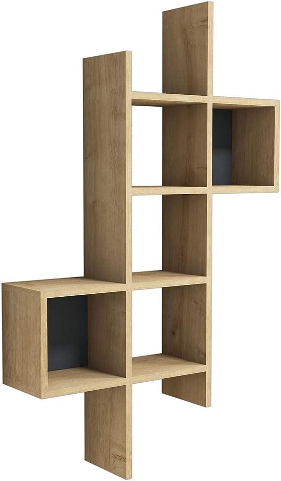 Vivense Keno estanter/ía de Pared decoraci/ón de Pared y Almacenamiento del hogar estantes flotantes y Unidades de exposici/ón