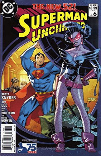 Superman Unchained #6G VF/NM ; DC comic book