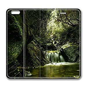 iPhone 6 Case, iPhone 6 Leather Case, Fashion Protective PU Leather Slim Flip Case [Stand Feature] Cover for New Apple iPhone 6(4.7 inch) - Creek 4