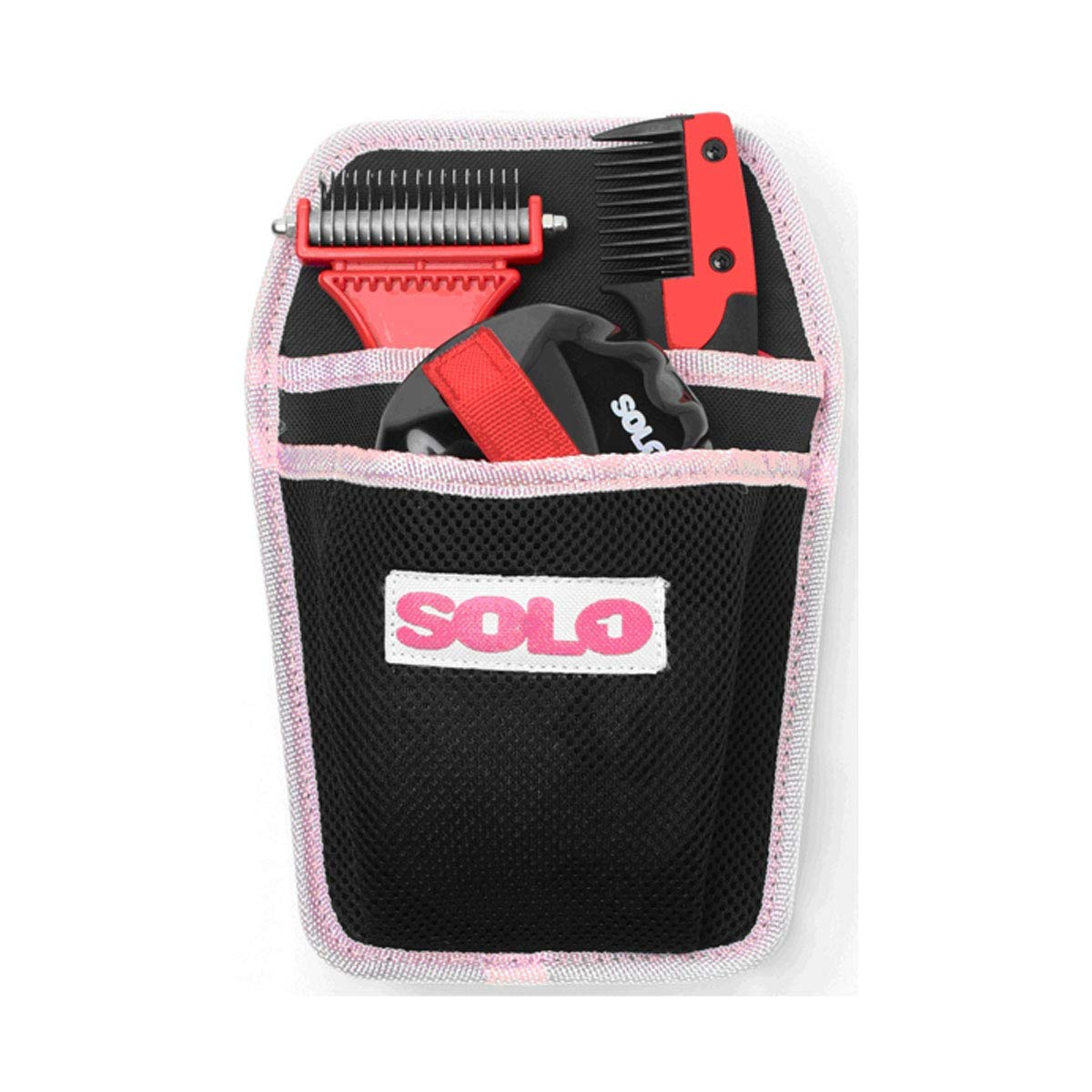 SoloGroom Solokit (One Size) (Black/Red)