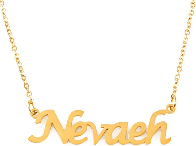 Name Necklace MIKAYLA 18ct Gold Plated Wedding Anniversary Gifts For Her
