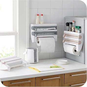 TechSmile 4-in-1 dispensador de pared para papel higiénico dispensador de papel de