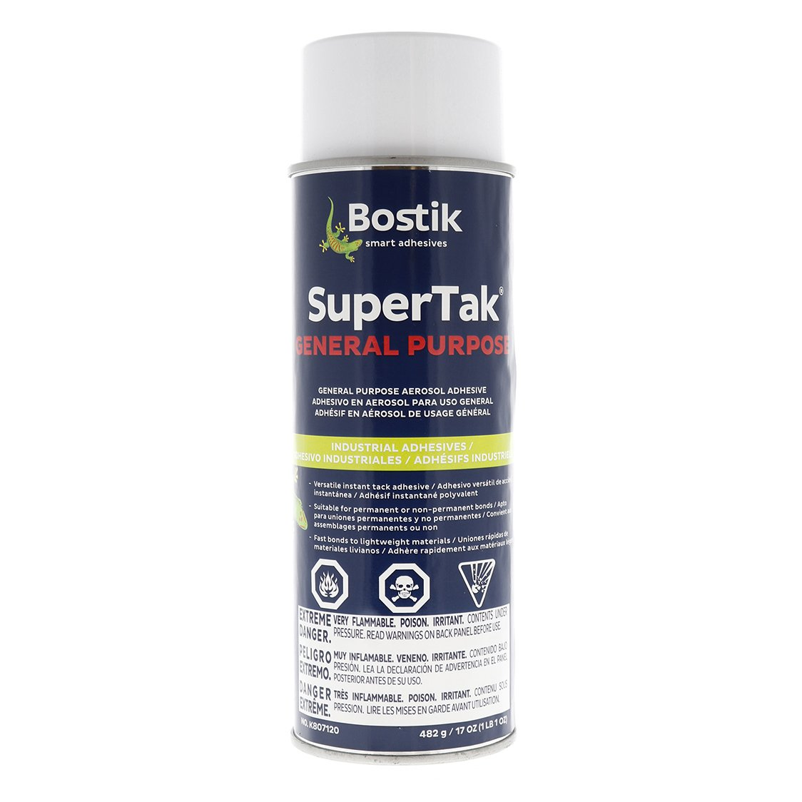 Bostik General Purpose Super Tak Aerosol Spray Adhesive (17 oz.) (7 Pack)