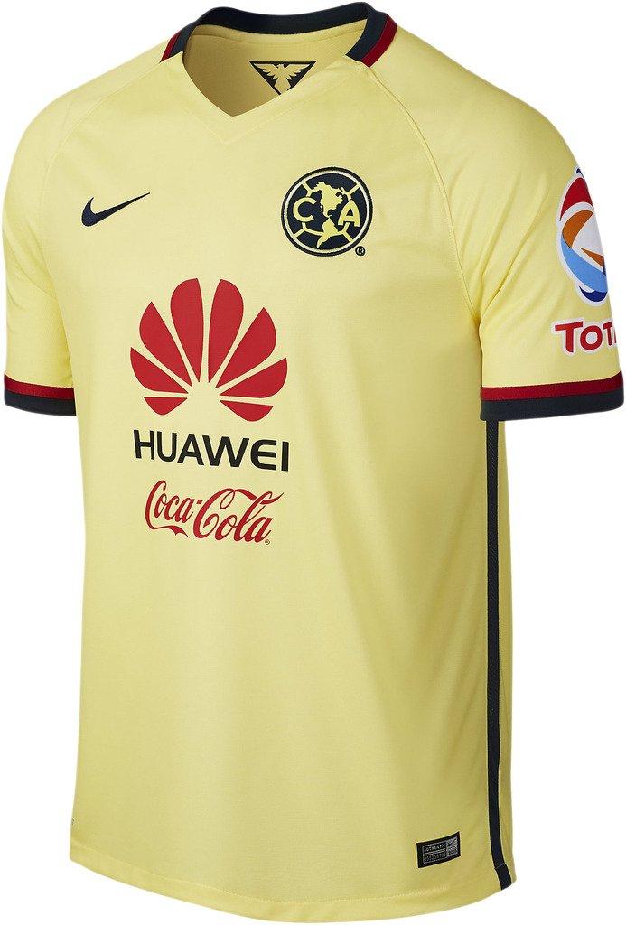 Amazon.com : Nike Mens Club America Home Stadium Jersey [Lemon Chiffon] (S) : Sports & Outdoors