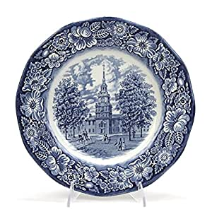 Liberty Blue by Staffordshire, China Dinner Plate