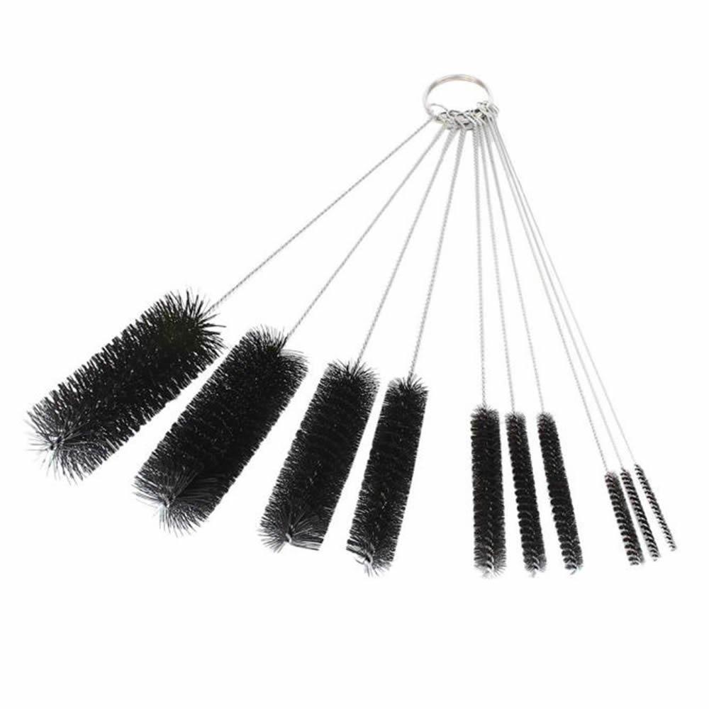 GOOTRADES Nylon Tube Brush Pipe Cleaning Brushes (pack of 10)
