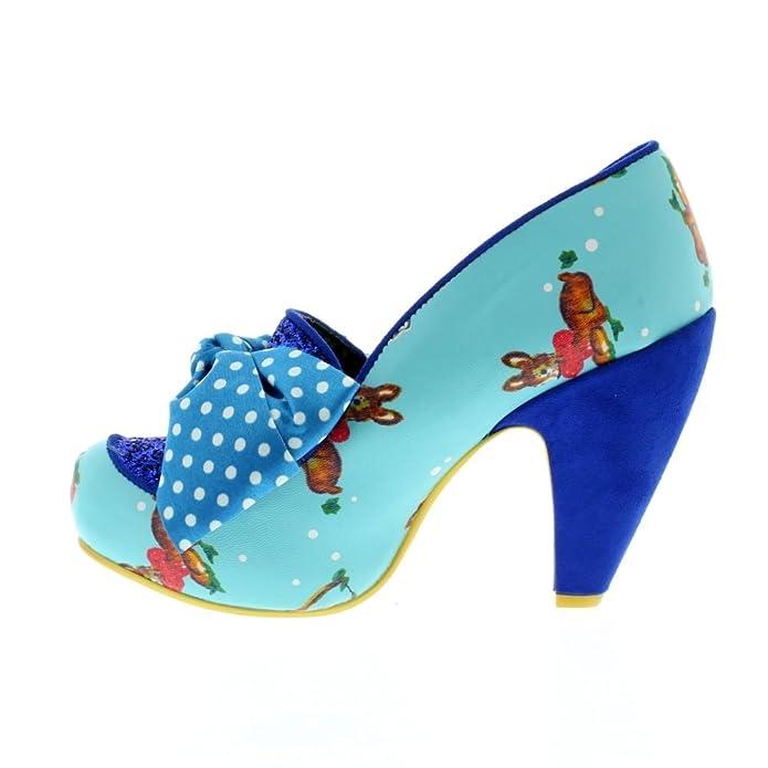 Irregular Choice One Love - Blue (Man-Made) Womens Heels: Amazon.co.uk:  Shoes & Bags