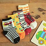 6 Pairs Anti-Slip Non Skid Cozy Ankle Cotton Socks