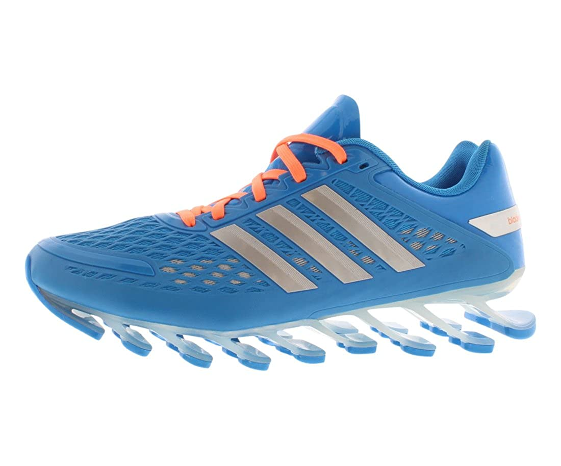 check out 35575 c969c adidas Performance Women's Springblade W Running Shoes Sol Blue/met  Silver/Black 10 B