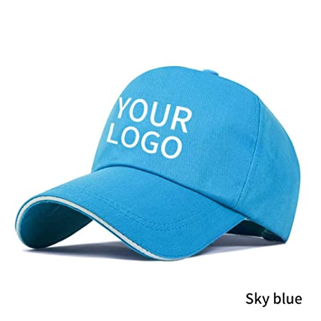 YPORE Gorra De Béisbol Personalizada Logo Gratis Texto Impresión ...