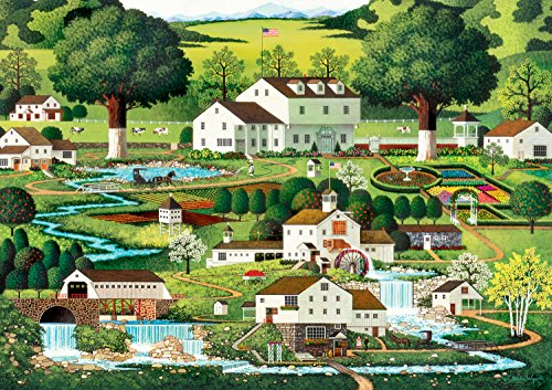 Buffalo Games - Charles Wysocki - Country Gardens - 300 Large Piece Jigsaw Puzzle