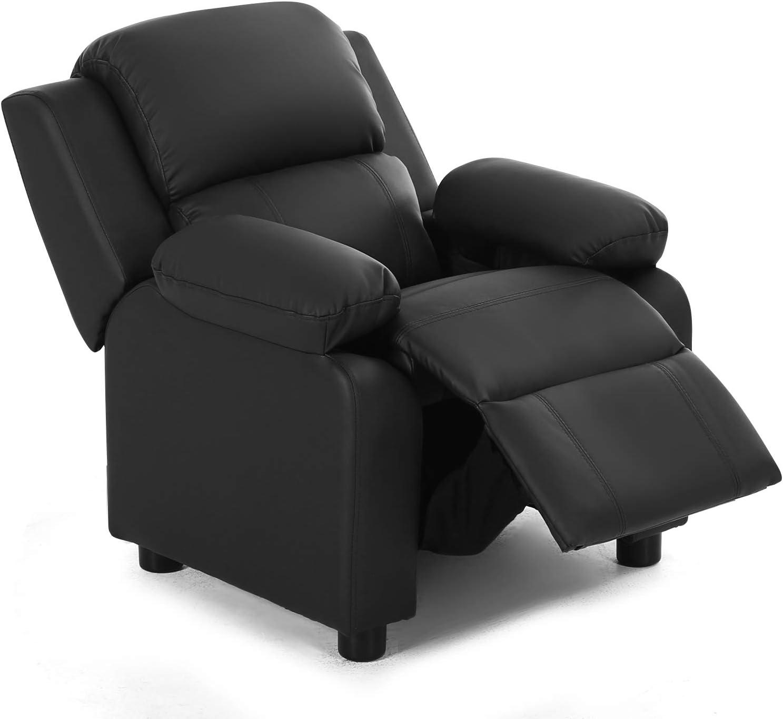 HONEY JOY Best High-Density Leather Chair For Kid