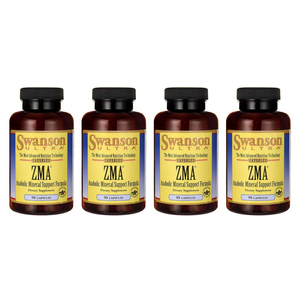 Swanson ZMA 90 Capsules (4 Pack)