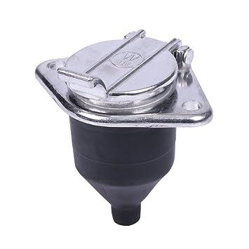 7-polig N Typ Aluminium Material Verkabelung Socket 24 V ...