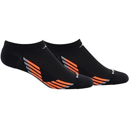 adidas Men's Climacool X Iii No Show Socks (2 Pack), Black/Solar