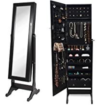 BTEXPERT Premium Wooden Jewelry Armoire Cabinet Review