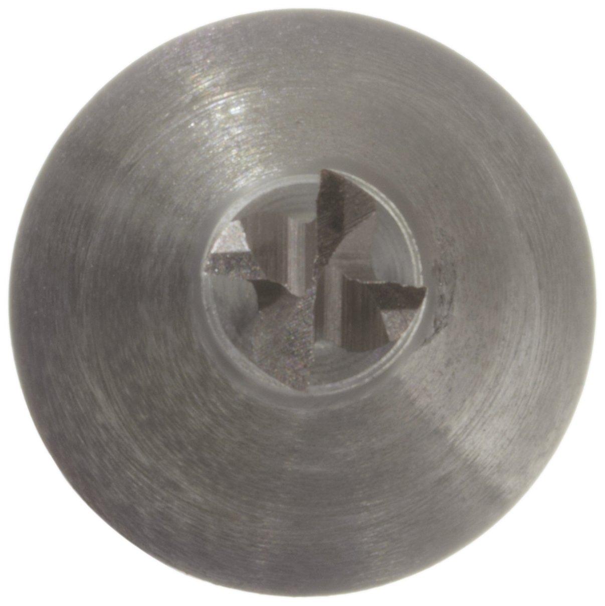 Non-Center Cutting 0.8125 Cutting Diameter Weldon Shank 4 Overall Length Melin Tool C Cobalt Steel Square Nose End Mill 4 Flutes 30 Deg Helix TiCN Monolayer Finish 0.625 Shank Diameter