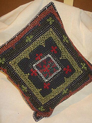 Tribal Asian Textiles Antique Ethnic Vintage Sofa Decor Pill