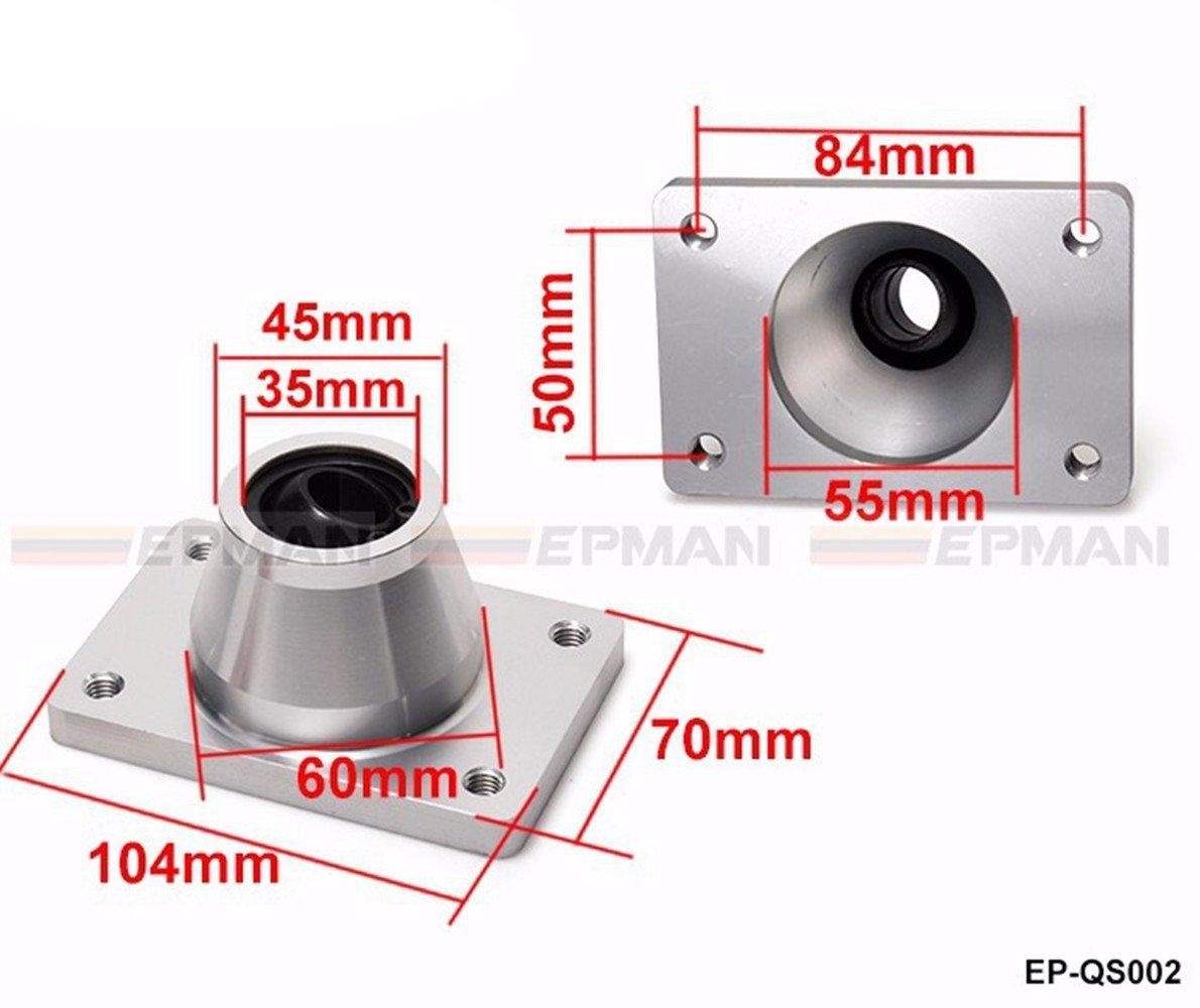 epman ep-qs002 corto Palanca Cambio Rápido para Peugeot 206 306 GTI D Turbo Diesel HDi Citroen Xsara: Amazon.es: Coche y moto