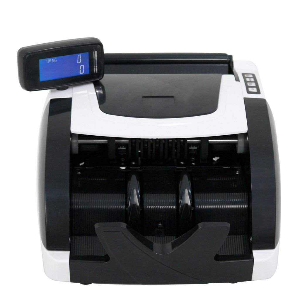 BBBuy Money Counter with UV/MG/IR Counterfeit Bill Detection, Counterfeit Alarm, 1000 Bills per Minute, Professional Cash Counting Machine by BBBuy (Image #3)