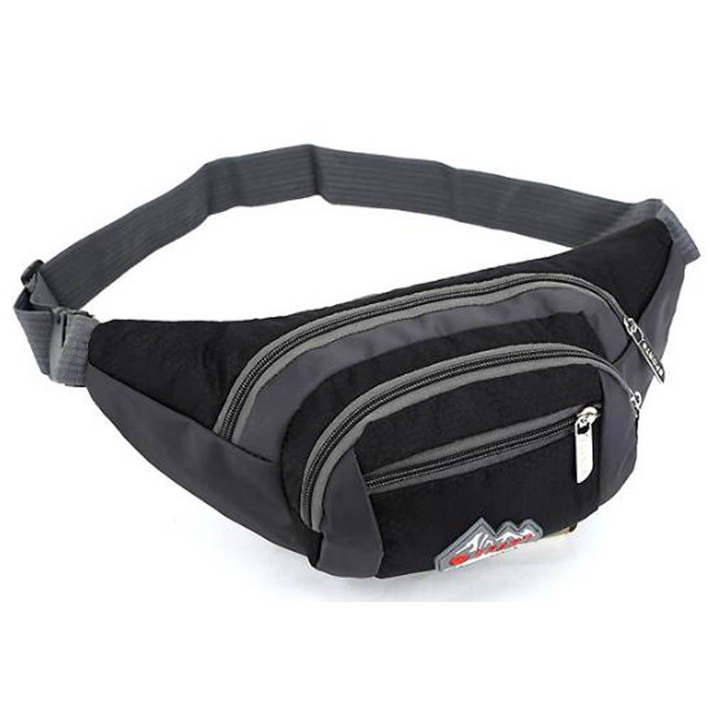 Marsupio Sport, pacchetto di Fanny, Marsupio per escursioni a piedi, a piedi o in viaggio. (Rosa) Q4 Travel