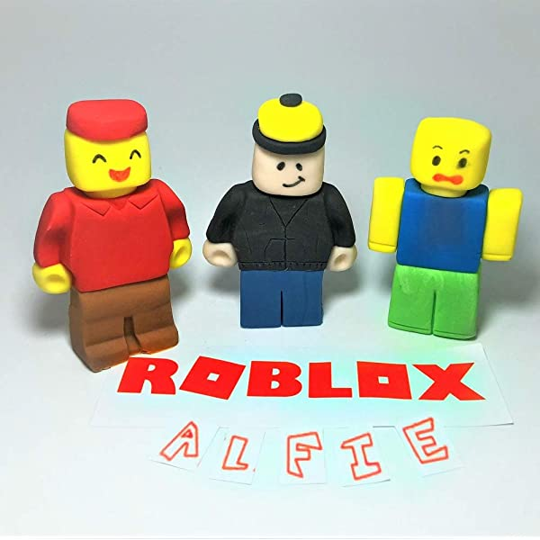 Roblox Cake Topper Personalised