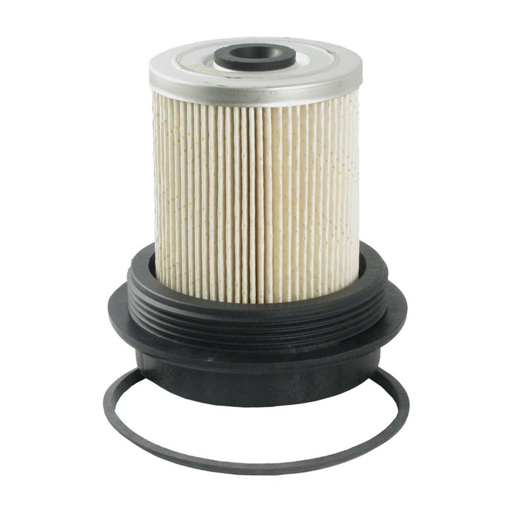 ecogard xf55055 diesel fuel filter - premium replacement fits ford f-350,  f-250, f-250 hd, e-350 econoline, f super duty, e-350 econoline club wagon,