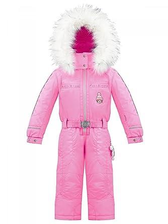 fc4e79887994 Poivre Blanc-Combinaison de Ski imperméable Rose Candy Pink du 2 Ans au 4  Ans Enfant Fille  Amazon.fr  Vêtements et accessoires