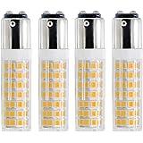 BA15D LED Bulb, Dimmable BA15D LED Light Bulb, 60W Halogen Bulb Equivalent, 6W, AC120V, Double Contact Bayonet Base (Warm Whi
