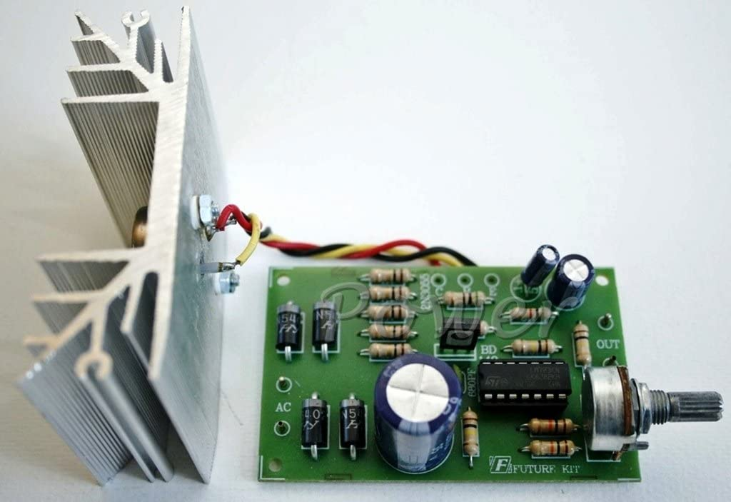 DC Power Supply Kit Requires Assembly