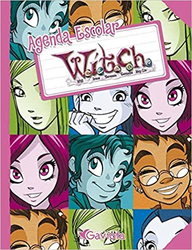 Agenda Escolar W.I.T.C.H. (Mis libros de W.I.T.C.H.): Amazon ...