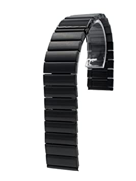 24mm Reemplazo Pulsera de Acero Inoxidable Banda de Muñeca + herramienta para Sony SmartWatch 2 SW2 Negro